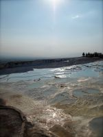 Pamukkale in Summer by jacobjellyroll