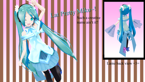 Lat Pretty Miku by G123u