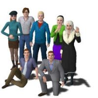 Sims 3 Spiderman Family by kaoshoneybun