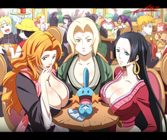 Pokemon,Naruto,Bleach,OnePiece by kevinTUT