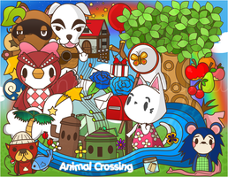 Animal Crossing by pronouncedyou