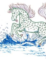 Water Horse by Pumpkin-Queen-Ildi