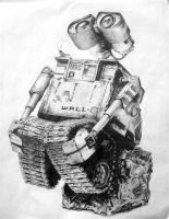 WALL-E by funkymarshstomper