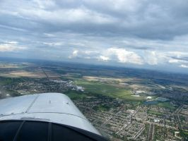 Cambridge and airport by captainflynn