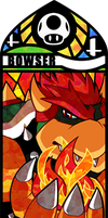Smash Bros - Bowser by Quas-quas