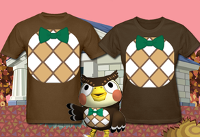 Animal Crossing Blathers Costume T Shirt by Enlightenup23