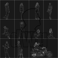 People 9- AutoCAD by peopledwg