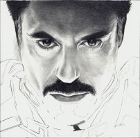 Iron Man - STEP 5 of 8 by Rick-Kills-Pencils