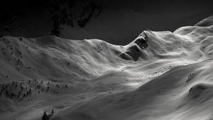 Mountaineering skiing by rdalpes