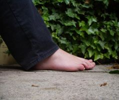 My Feet Outdoor2 by KarinaDreamer