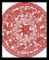 chinese zodiac papercut by Taliris