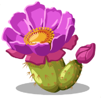 Prickly Pear Cactus by Amelia411