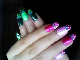 Lingery nails by angelvivi