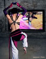 Street Fighter Juri Han by awesomePhotoDe