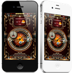 Steampunk Iphone Theme Screenshot by yereverluvinuncleber