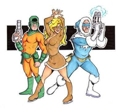 Flash Rogues by ccicconi
