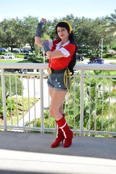Bombshell Wonder Woman by BrittanyRo5e