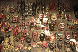 bali masks by worldpitou