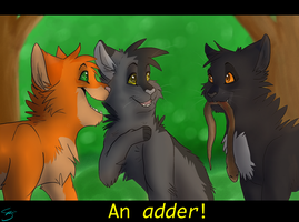 Cats and Adders by PenguinEatsCarrots