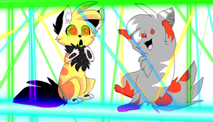 LASSERSSS collab by starsweeps