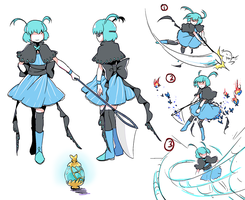Magical Girl Arachne ref by wavily