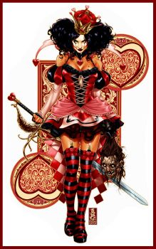 Queen of Hearts by diablo2003