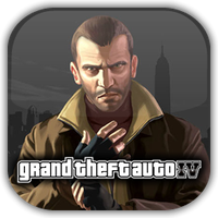 GTA IV Game Icon 2 by Wolfangraul