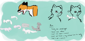 New Species Info Sheet by purrcatory