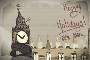 Happy Holidays by clocks-tower