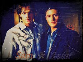 Sam and Dean by Sylock41