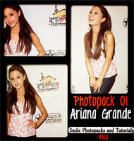 Photopack Ariana Grande by MicaEdiitions