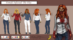 Female Infected - The Flea by BananaWork