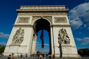 Arc de Triomphe by cyrus000