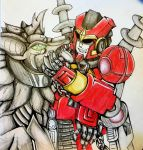 Kaon and The Pet by SonicNyx