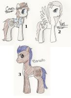 Bt2012 Mlp Adopts - Closed by JewelThePonyLover12