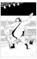Andre The Giant by RobotGorilla