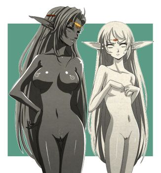 Petrified Elves by L-exander909