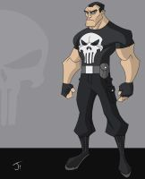 Punisher animated by jayodjick