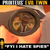 TF2 FYI I HATE SPIES Spray by Proiteus