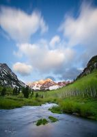 Maroon Bells by jessespeer