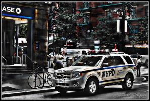 NYPD HDR by The-proffesional