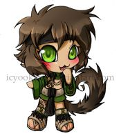 Chibi Commission: Wolfy boy by icyookami