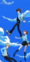 Digimon adventure Tri Ending... by DamianMAD