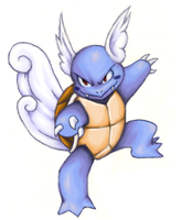 Wartortle - colored