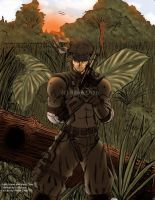 Solid Snake is sooooooooo hot by Soul-Rokkuman