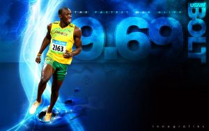 USAIN BOLT by innografiks
