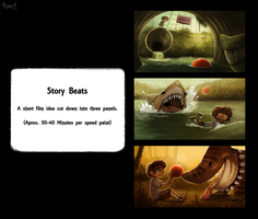DAY 109. Story Beats (30 - 40 Minutes Each) by Cryptid-Creations