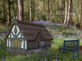 Country Cottages by oldhippieart