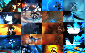 Black Rock Shooter wallpaper by Bakatsuki-sama