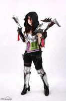 demon hunter from diablo 3 by Daraya-crafts